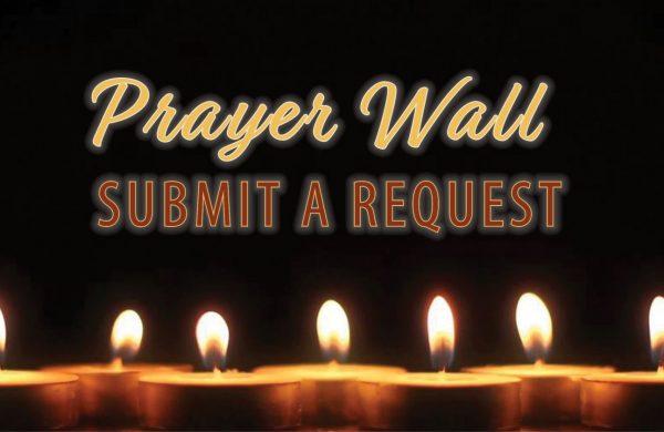 social media - prayer wall button